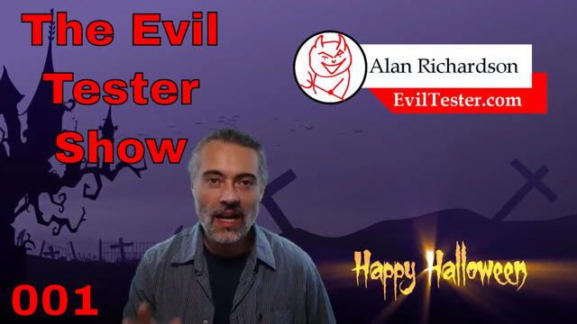 Announcing The Evil Tester Show – Podcast